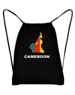 Cameroon - Country Map Color Sport Bag