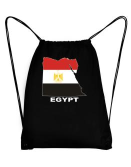 Egypt - Country Map Color Sport Bag