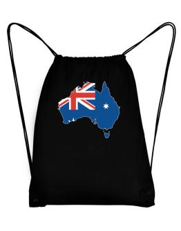 Australia - Country Map Color Simple Sport Bag