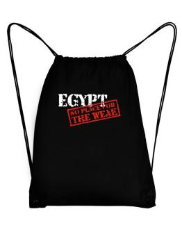 Egypt No Place For The Weak Sport Bag