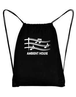 Ambient House - Musical Notes Sport Bag