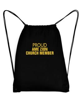 Proud Ame Zion Church Member Sport Bag