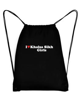 I Love Khalsa Sikh Girls Sport Bag