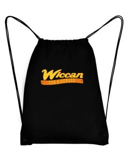 Wiccan For A Reason Sport Bag