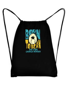 Born To Be An Ame Zion Church Member Sport Bag