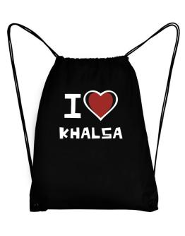 I Love Khalsa Sport Bag