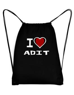 I Love Adit Sport Bag
