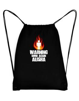 Warning - Born Again Alisha Sport Bag
