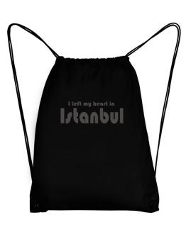 I Left My Heart In Istanbul Sport Bag