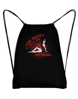 The best girls are from Istanbul - pinup Sport Bag