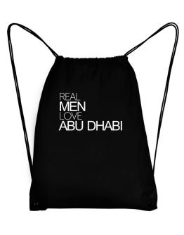 Real men love Abu Dhabi Sport Bag