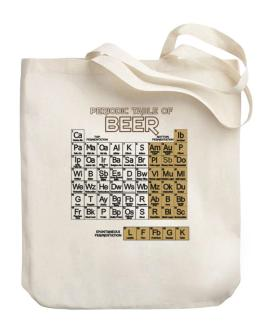 Periodic Table of Beer Canvas Tote Bag