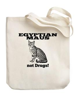 Egyptian Maus not drugs Canvas Tote Bag