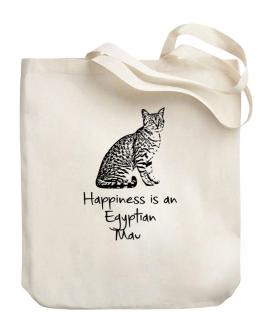 Happiness is a Egyptian Mau Canvas Tote Bag