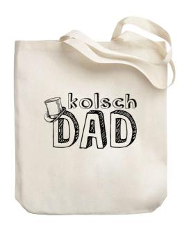 Kolsch dad Canvas Tote Bag