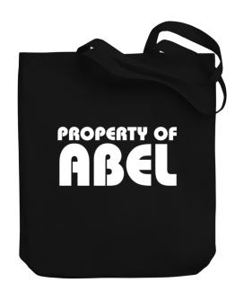 """ Property of Abel "" Canvas Tote Bag"