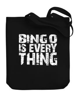 Bingo Is Everything Canvas Tote Bag