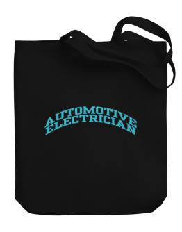 Automotive Electrician Canvas Tote Bag
