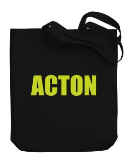Acton Canvas Tote Bag