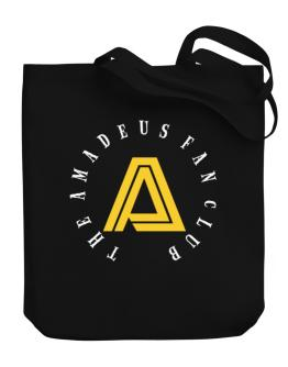 The Amadeus Fan Club Canvas Tote Bag