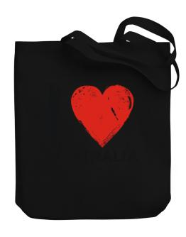I Love Australia - Vintage Canvas Tote Bag
