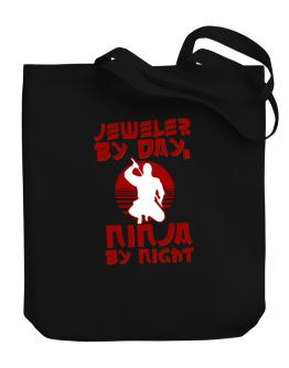 Jeweler By Day, Ninja By Night Canvas Tote Bag