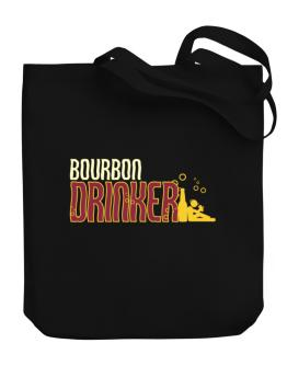 Bourbon Drinker Canvas Tote Bag