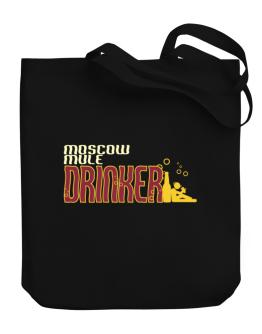 Moscow Mule Drinker Canvas Tote Bag