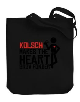 Kolsch Makes The Heart Grow Fonder Canvas Tote Bag