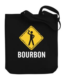Bourbon Canvas Tote Bag