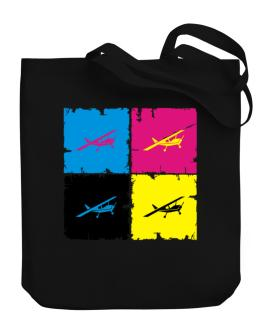 """ Aerobatics - Pop art "" Canvas Tote Bag"