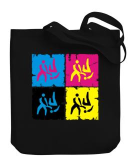 Aikido - Pop Art Canvas Tote Bag