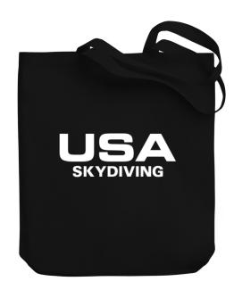 Usa Skydiving / Athletic America Canvas Tote Bag