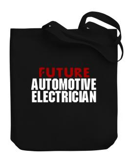 Future Automotive Electrician Canvas Tote Bag