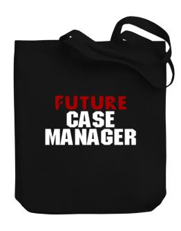 Future Case Manager Canvas Tote Bag