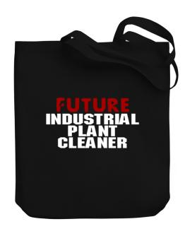 Future Industrial Plant Cleaner Canvas Tote Bag