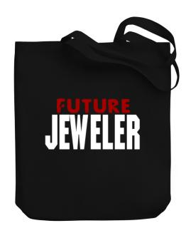 Future Jeweler Canvas Tote Bag