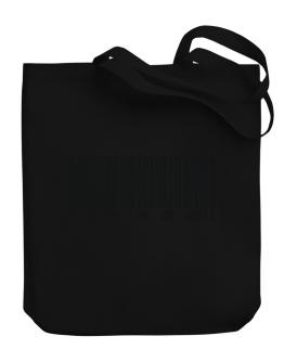 Bar Code Abram Canvas Tote Bag