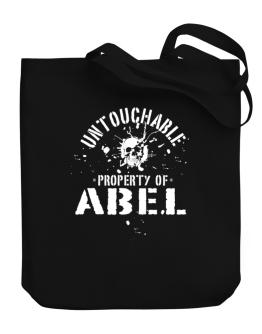 Untouchable : Property Of Abel Canvas Tote Bag
