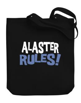 Alaster Rules! Canvas Tote Bag