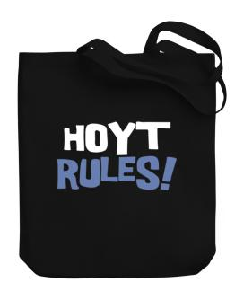 Hoyt Rules! Canvas Tote Bag