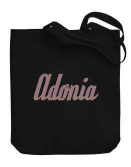 Adonia Canvas Tote Bag