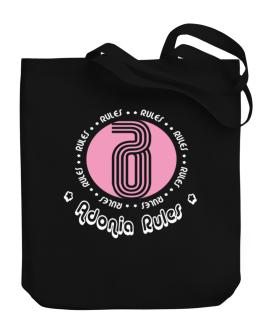 Adonia Rules Canvas Tote Bag