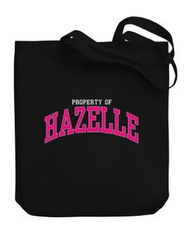 Property Of Hazelle Canvas Tote Bag