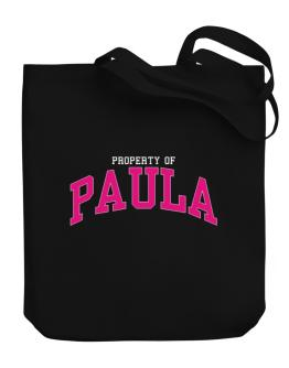 Property Of Paula Canvas Tote Bag