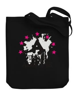 Team Abarne - Initial Canvas Tote Bag
