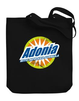 Adonia - With Improved Formula Canvas Tote Bag