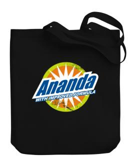 Ananda - With Improved Formula Canvas Tote Bag