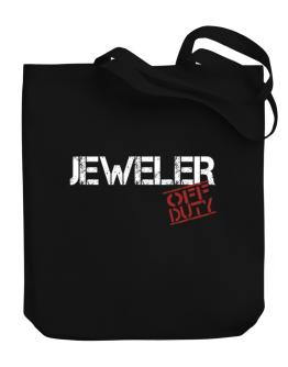 Jeweler - Off Duty Canvas Tote Bag