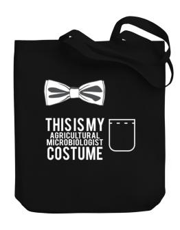 this is my Agricultural Microbiologist costume Canvas Tote Bag